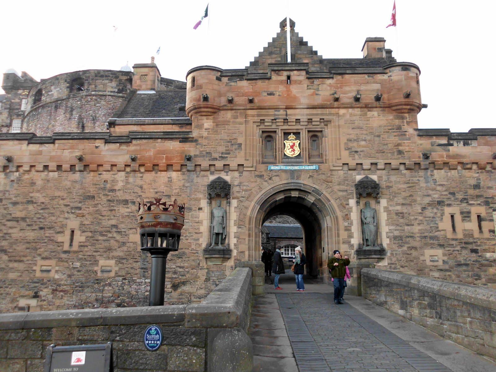 Para viajar con tu principe/princesa al castillo de Edimburgo