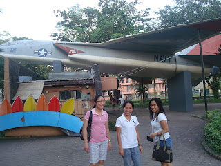 old aircraft in Marikit Park in Subic