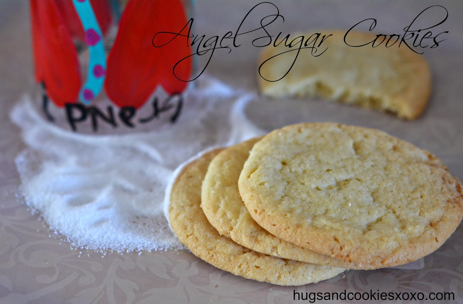 ANGEL SUGAR COOKIES - Hugs and Cookies XOXO