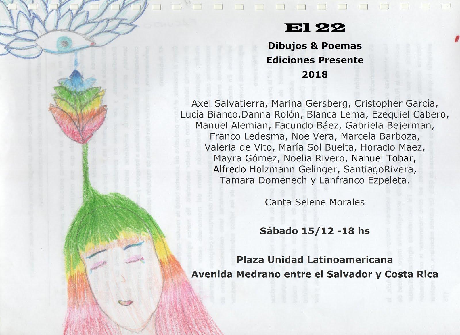 El 22. Ediciones Presente. 2018.