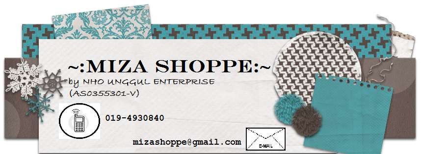 welcome to mizashoppe
