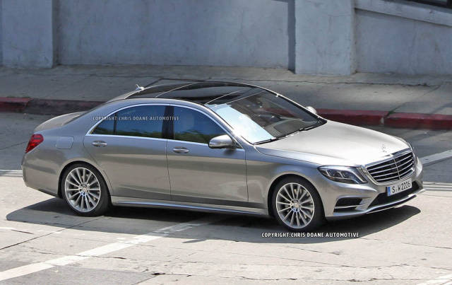 новый Mercedes-Benz S-Класса 2013