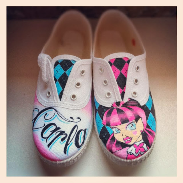 Zapatillas personalizadas Monster's High