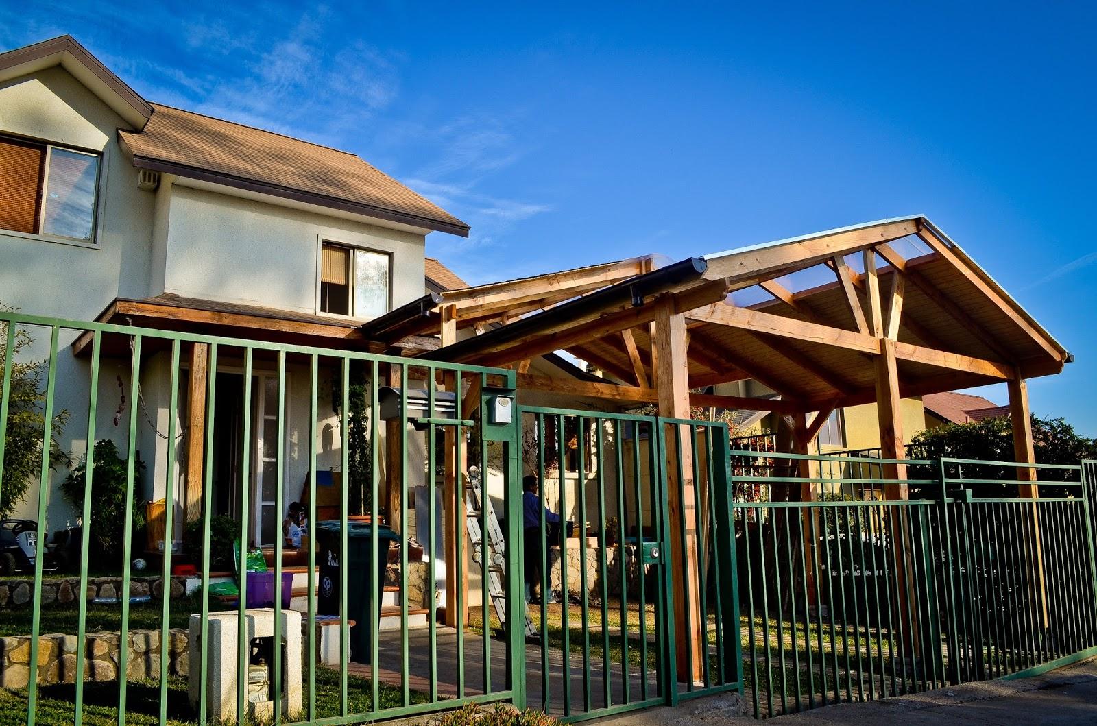 Cobertizos de madera for Cobertizos de casas