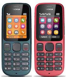 Spesifikasi Nokia 100
