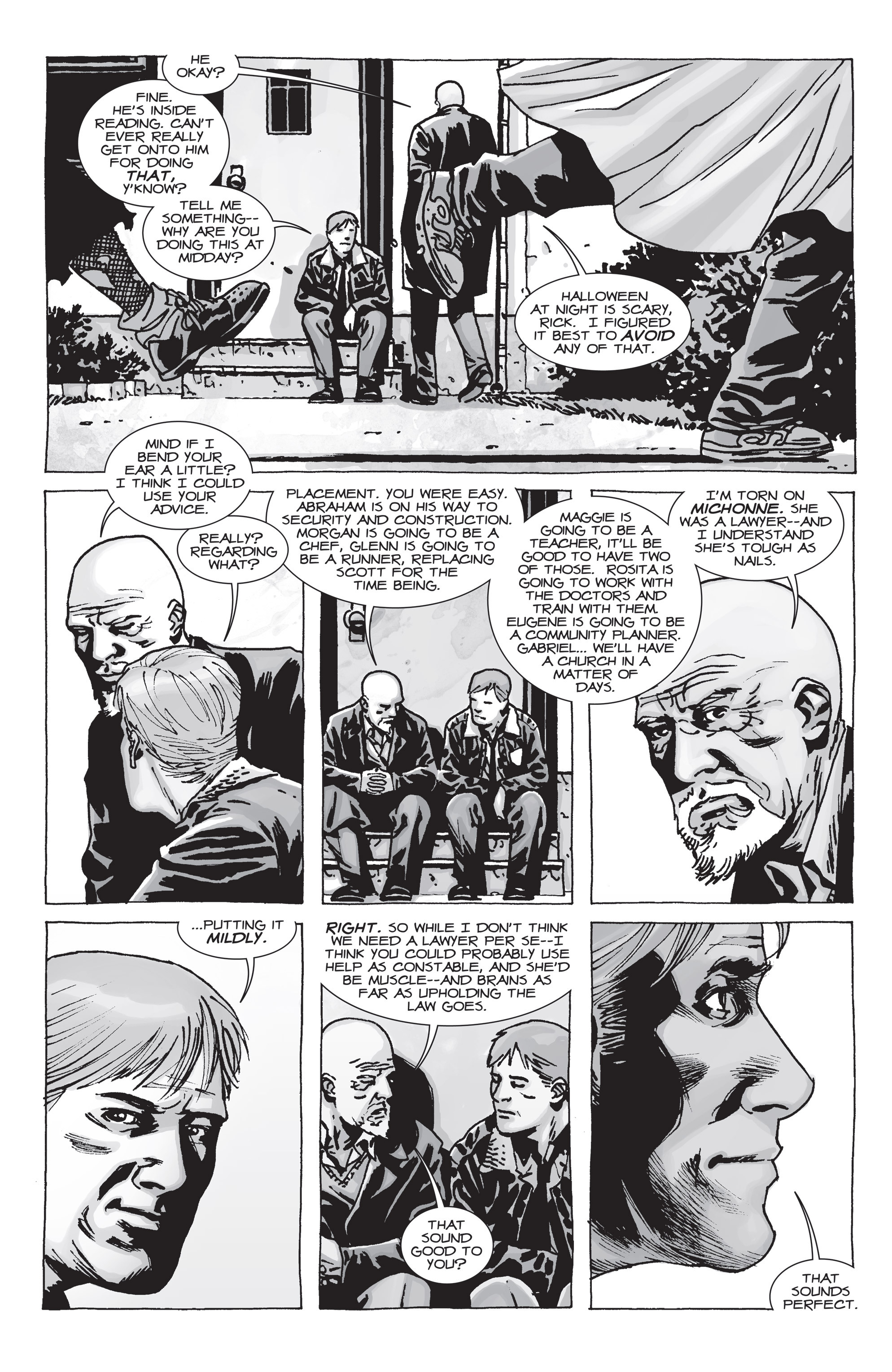 The Walking Dead Issue #71 Page 18