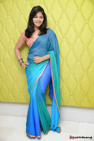 actress anjali hot saree photos at masala telugu movie audio launch+(50) Anjali Saree Photos at Masala Audio Launch