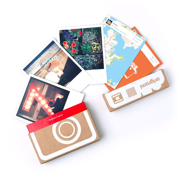 Print your Instagram photos with Origrami