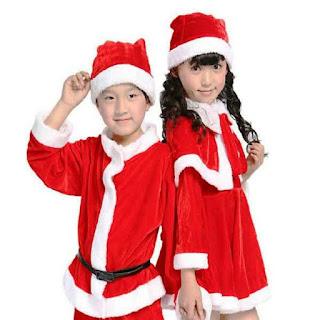 Contoh Desain Baju Natal Untuk Anak