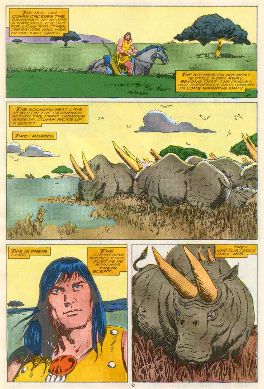 Conan the Barbarian (1970) Issue #210 #222 - English 6
