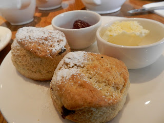 Small scones at Cafe Loco