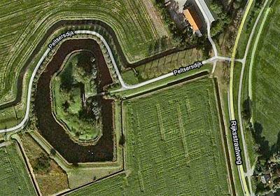 Fort Penserdijk en Brielle