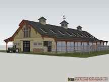 Horse Barn Plans Designs