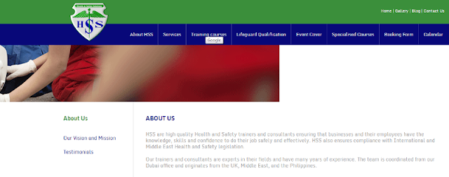 trusted health and safety training course provider