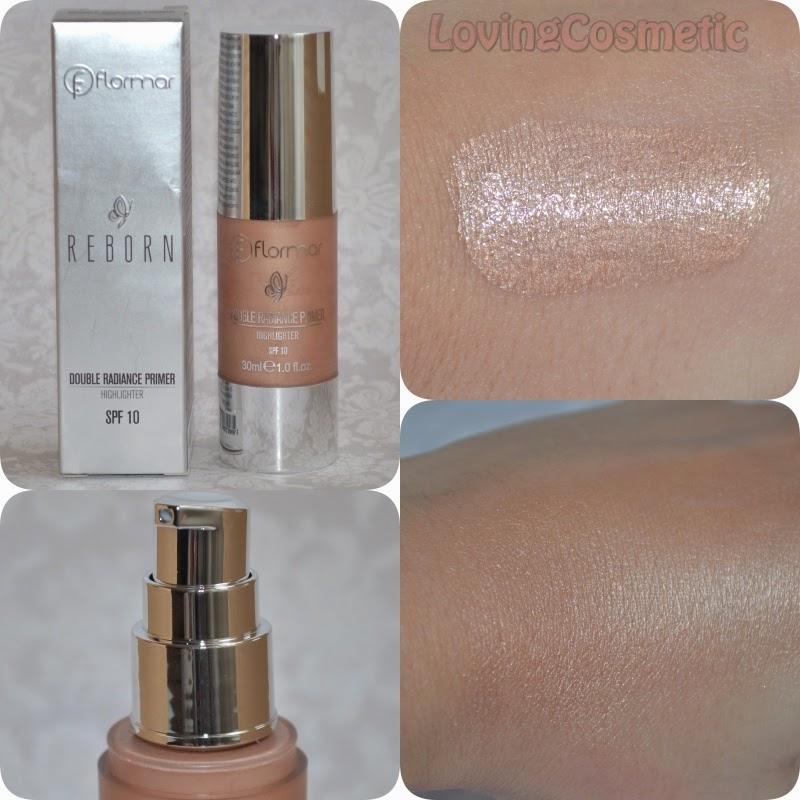 Flormar, maquillaje primavera 2015 reborn double primer highlighter