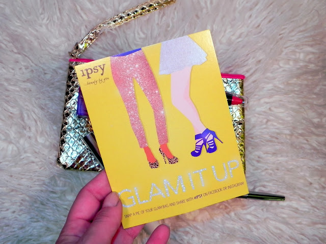 November Ipsy Glam Bag