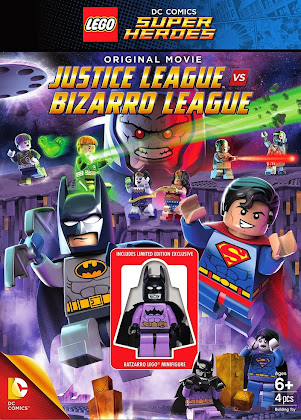 Lego DC Comics Super Heroes: Justice League vs. Bizarro League (2015) [Latino]