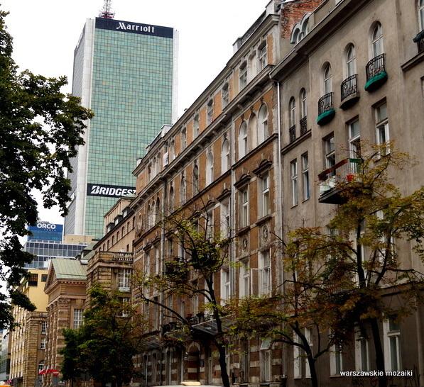 Warszawa Warsaw kamienica Mariana Zielińskiego licowana