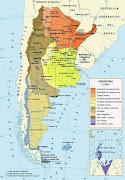MAPS OF ARGENTINA argentina climas