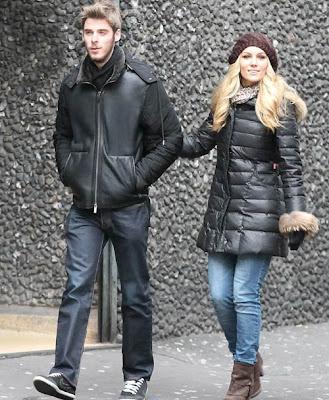 David de Gea with Girlfriend