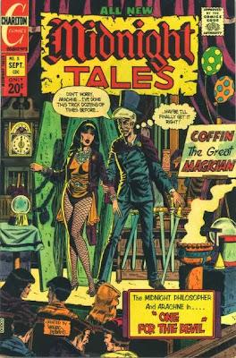 Modnight Tales #5, Professor Coffin and Arachne