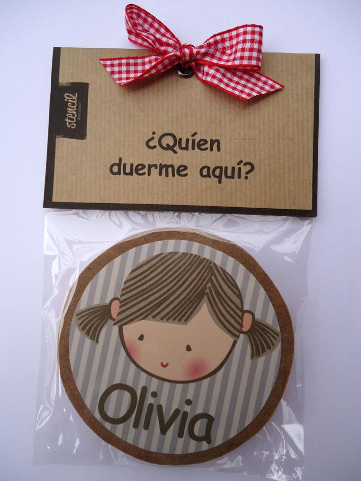 Vinilos infantiles personalizados placas para puertas - Letras infantiles para puertas ...