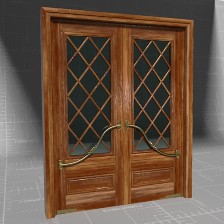 Stylish & Elegant French Door
