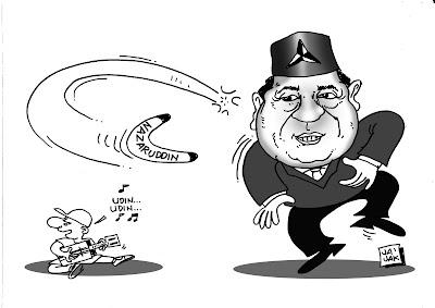 Nazarudin jadi Bumerang SBY