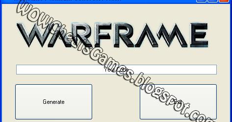 Image Result For Warframe Free Platinum Generator