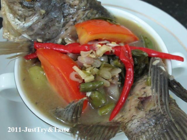 resep sup ikan gurame dan sawi asin just try amp taste