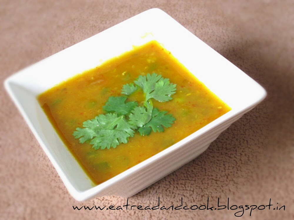 authentic bengali style masoor dal , red lentils recipe