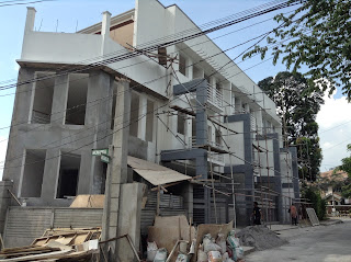 townhouse for sale in Quezon City May 2014 Construction Progress
