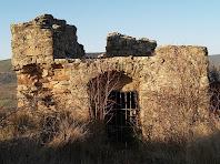 L'únic habitatge cobert que es conserva de la fortificació militar