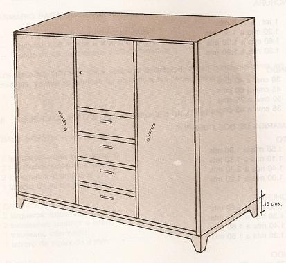 Muebles domoticos como hacer un armario proceso y - Medidas de un armario ...