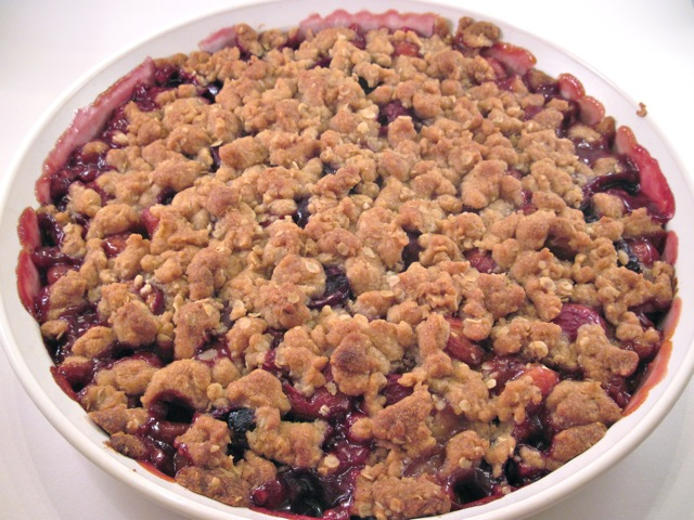 International food blog: Cherry Cobbler National Holiday 5 17 2012