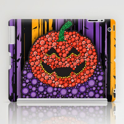Pumpkin-Halloween_iPad-Case