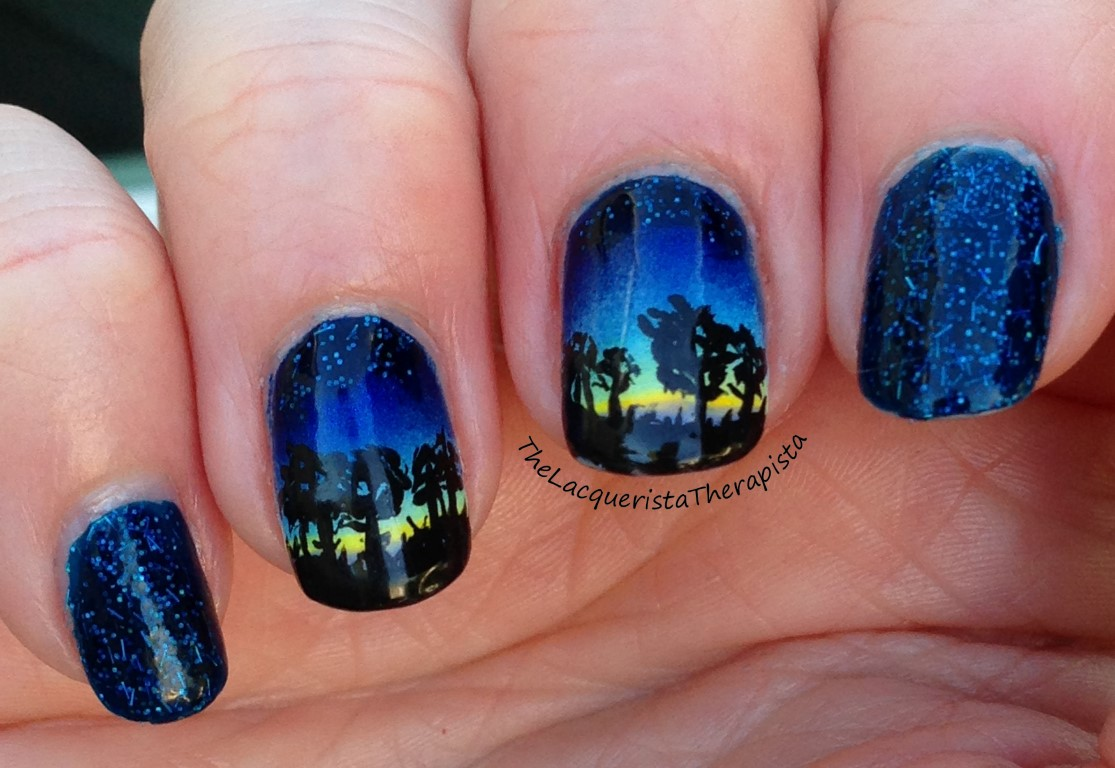 Starry Night Sky Nails | Best Nail Designs 2018