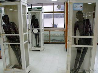 MUSEO DE MEDICINA FORENSE. EL MUSEO DE LOS HORRORES  DE BANGKOK.