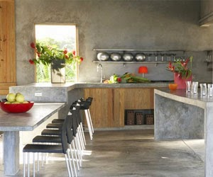 Kitchen Exploration - Cement Kitchen Cabinets
