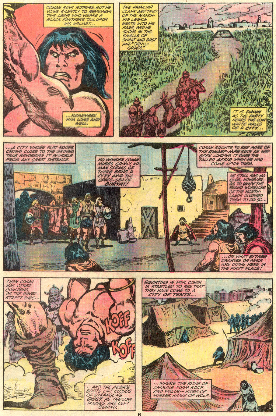 Conan the Barbarian (1970) Issue #110 #122 - English 5