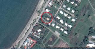 terreno en venta puerto cortes frente playa coca-cola