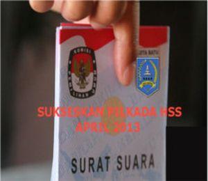 Pemilukada Kabupaten HSS 2013