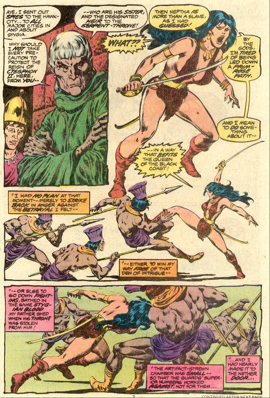 Conan the Barbarian (1970) Issue #88 #100 - English 7