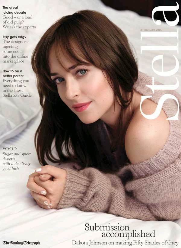 Actress: Dakota Johnson for Stella Magazine UK