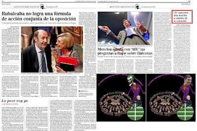 La Joint Venture de Pedro J. con el bribón de Bárcenas, estructura el asalto al poder de la izquierda y el secesionismo