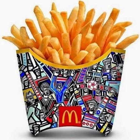 Kalimah ALLAH Pada Pek McDonald's