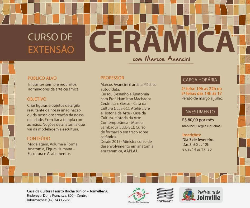 Escola De Artes Fritz Alt Casa Da Cultura Curso De