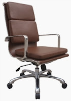 Woodstock Hendrix Brown High Back Conference Chair