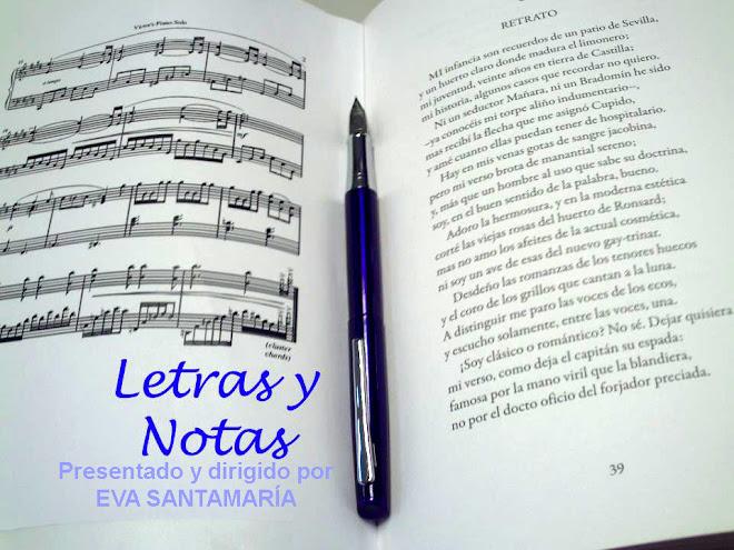 Letras y Notas