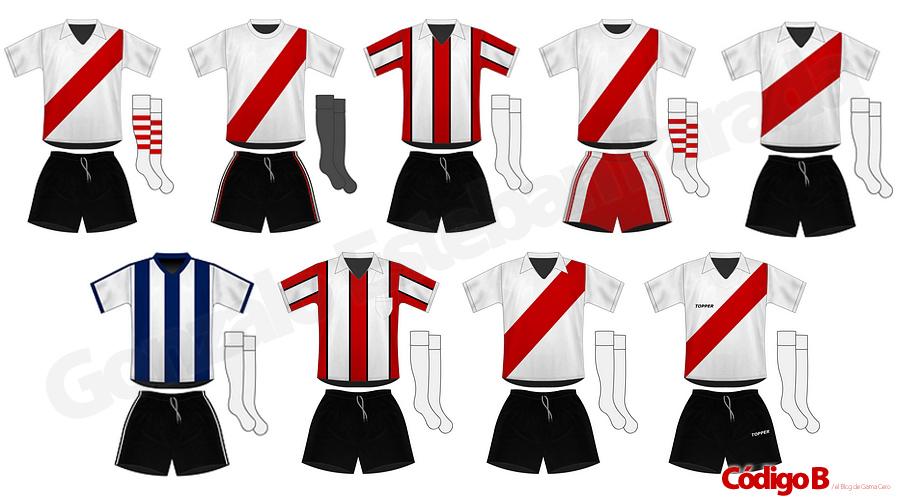 River Plate | Todas las camisetas de su historia
